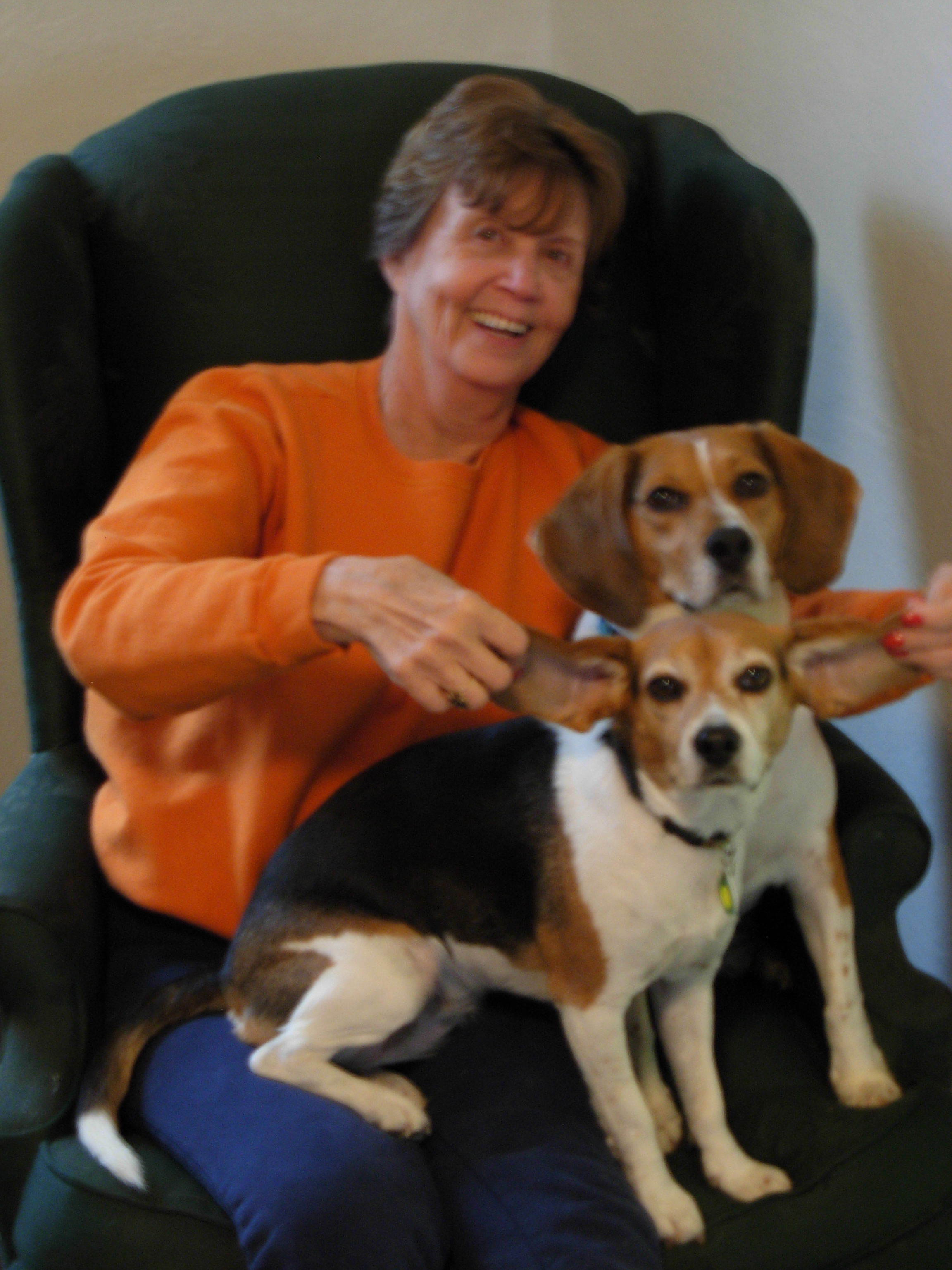 Paula and Beagles